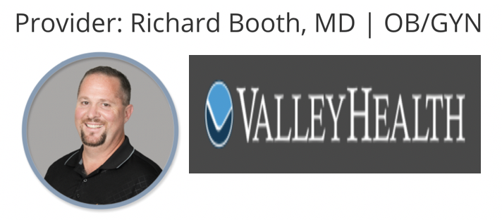 Valley Health - Richard Booth, MD